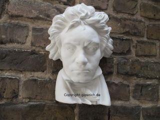 Gips BÜste Relief Beethoven Wand Deko SchÖn Selten Bild
