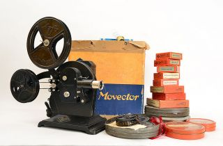 Agfa Heim Movector Billy 16mm M.  Div.  Filmen In Ovp (5277) Bild