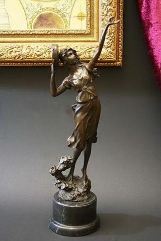 "Bronze Figur ""esmeralda"" - Signiert Bild"