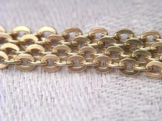 °kette Halskette 585 Gold 14k Gegenständige Ovale Kettenglieder 79cm X 2,  4mm 10g Bild