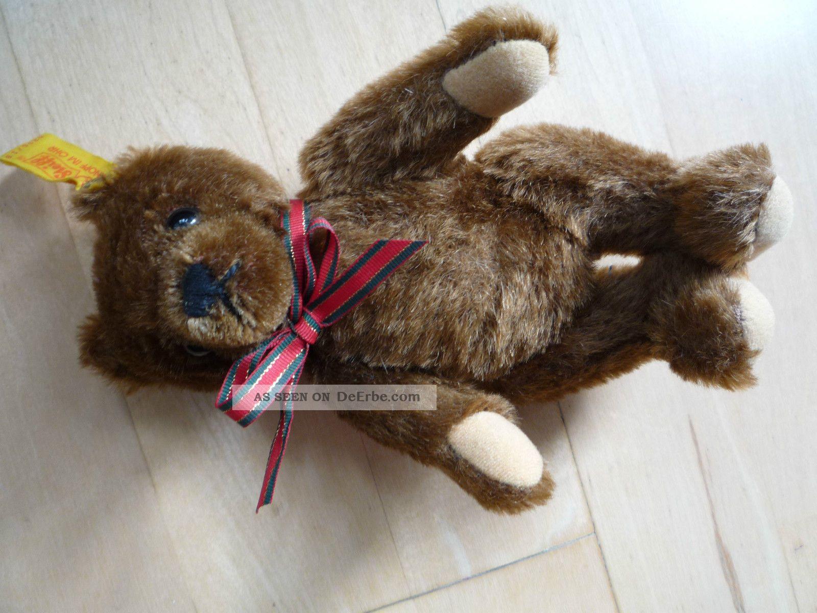 Steiff Teddy 17 Cm - No.  0206/18 Ca.  1990 - 95 Für Sammler ? Stofftiere & Teddybären Bild