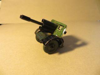 Geschütz / Kanone Blechspielzeug Artillerie Militär Spielzeug Bild