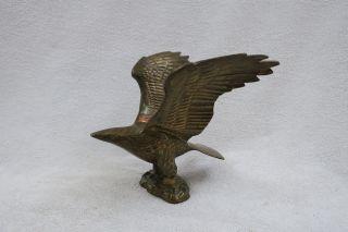 Messing Figur Vogel - Herkunft Nicht Bekannt Höhe: 15,  8 Cm Gewicht: 973 G Bild