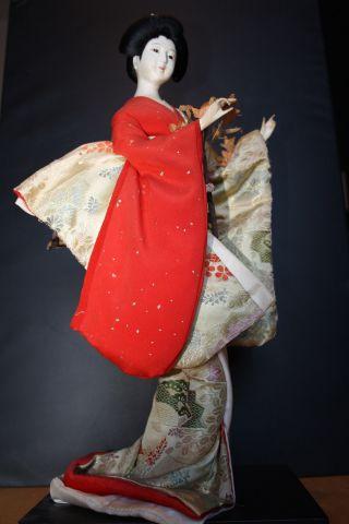 Kyugetsu Doll Aus Japan Geisha Puppe Erbnachlass Manga Asien Bild