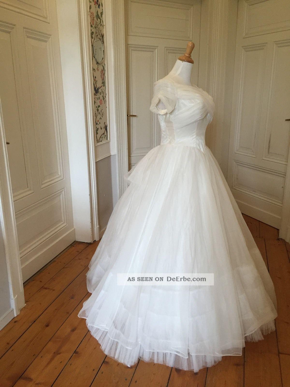 Zauberhaftes True Vintage Brautkleid 1950