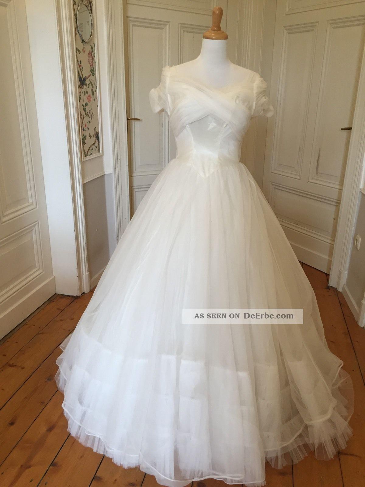 Fantastisch Retro Brautkleider 1950 Zeitgenössisch - Hochzeit Kleid ...