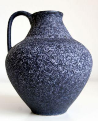 Van Daalen Keramik Vase 103 - 18,  Blau,  Vintage,  West German Pottery Bild
