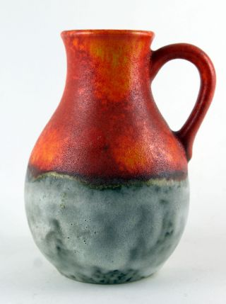 Ü Keramik,  Uebelacker Keramik Vase 1735 - 14,  Selten,  Vintage,  German Pottery Bild