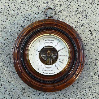 Barometer Holosteric - E.  Schröder Paderborn - Um 1900 - 1a Bild