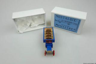 Epoche Nostalgie Miniaturen Nr.  3 Brauerei Lastwagen 7,  2cm Holz Modellbau S4819 Bild