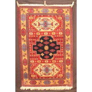 Feiner Handgeknüpfter Orient Sammler Teppich Kazak Milas Carpet Tapis 200x130cm Bild