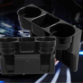 Black 2 Becherhalter Getränk Getränkesitzkeil Auto Auto - Lkw Universalhalterung Bild