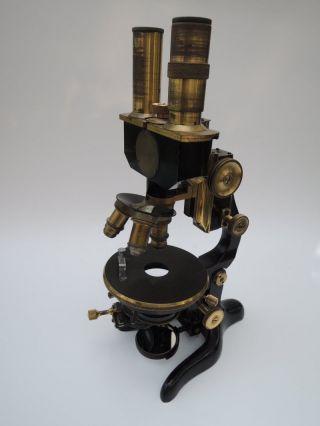 Mikroskop Leitz 1926 Stereomikroskop Antik Sehr Selten Bild