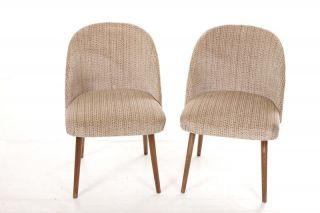 Schöner Alter Stuhl Vintage Retro Chair 60er 70er Jahre Stoffstuhl Bild