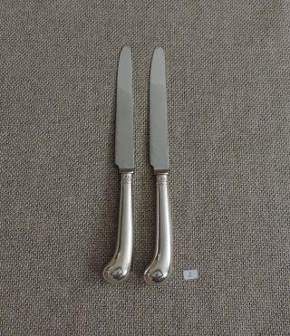 2 Messer,  Pistolengriff,  925 Silber,  England,  London,  1921,  2 Bild