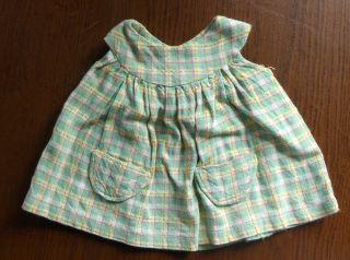 Puppenkleid,  1950er,  Handarbeit Mit Taschen Bild