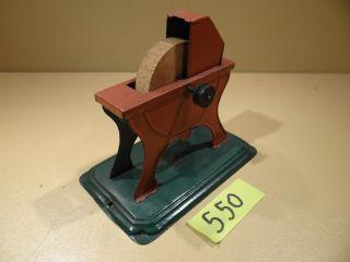 Antriebsmodell Bing Schleifstein 9956/96 Von Ca.  1912 - Dampfmaschine Bild