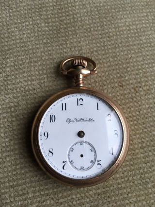 Elgin 16size - Convertible - Pocket Watch Movement Taschenuhrwerk Ca.  1879 Bild