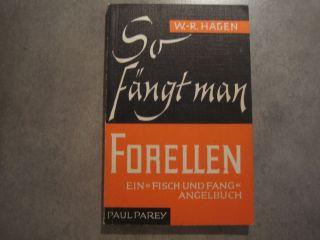 So Fängt Man Schleien,  Rotaugen,  Forellen,  Aale,  Barben,  5 Bände Paul Parey Bild