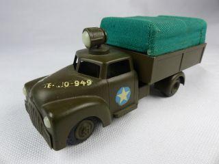 1950 ' S Tekno Denmark - 949 Us Army Military Truck - Lkw Pritsche Diecast Bild