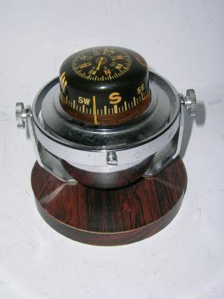 1955 Seltener Kreisel - Kompass Mit Kardanischer Lagerung Bild