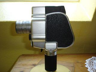 Carena Zoomex Filmkamera - Federwerk Im Handgriff - Doppel 8 Von 1955 - 60 Bild