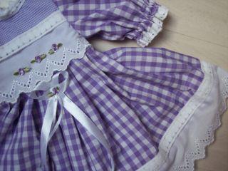 Schönes Kleidchen Für Puppen Größe 53cm Bild