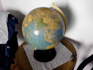 Alter Globus 33cm Um1960 Ddr Bild