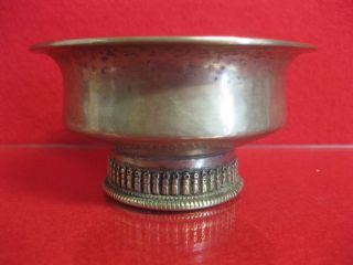 Silber Butterlampe Tibet Altar Asiatika China Japan Vase Bild