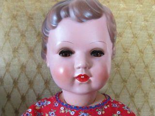 Alte SchildkrÖt Puppe Ursel 70 Cm 50/60er Jahre Bild