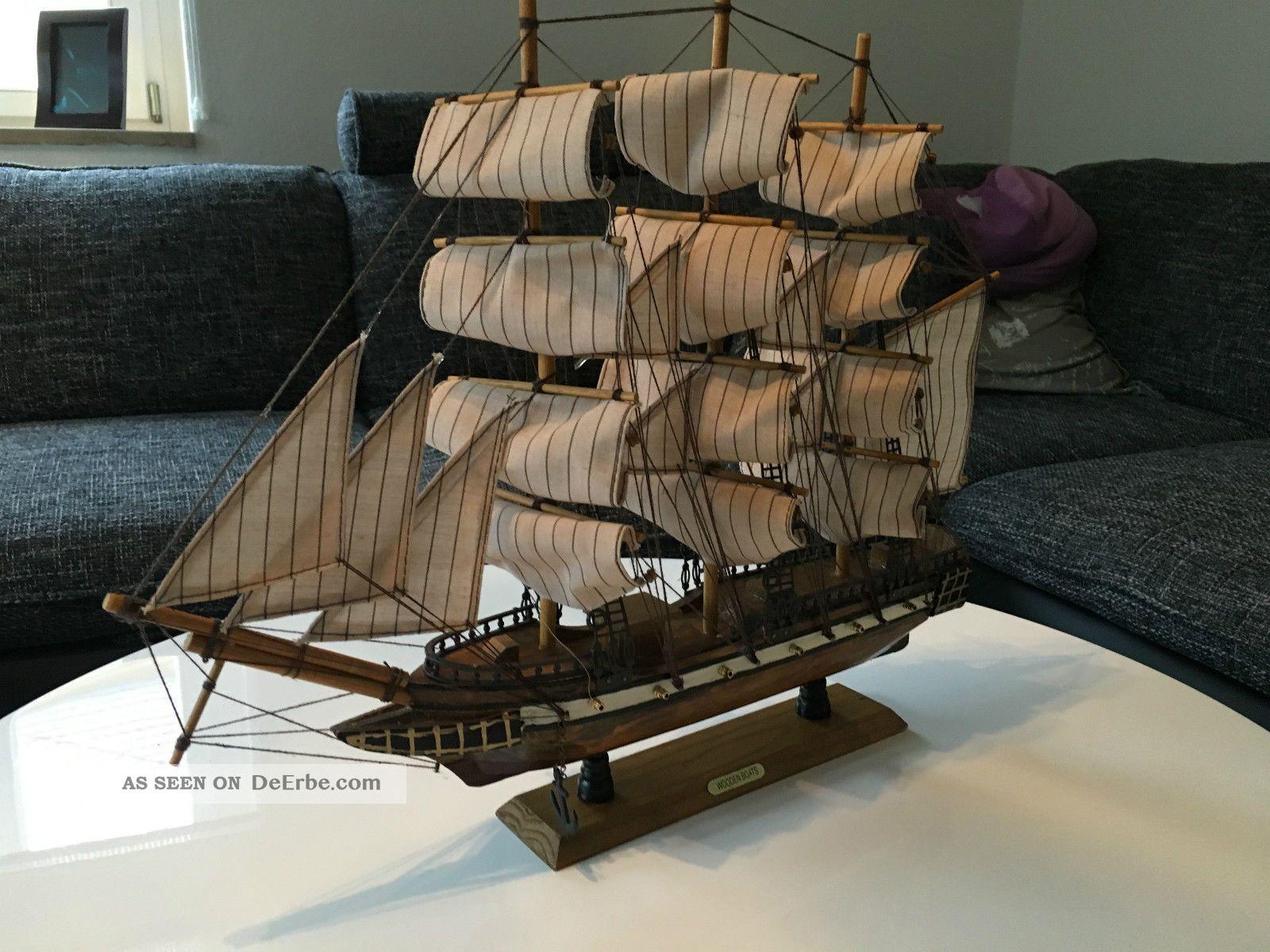 Segelschiff Fragatte 3 Master,  12 Kanonen - Modell Maritime Dekoration Bild