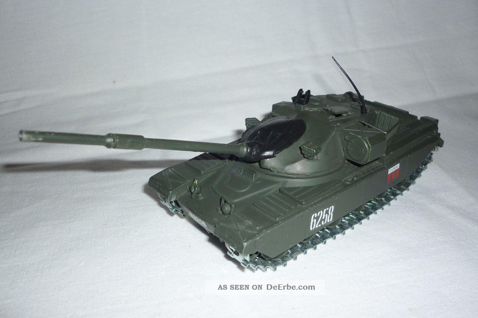 Polistil - Metallmodell - Panzer / Tank - Chieftain Mk 3 - 1:50 - (4.  Bm - 65) Gefertigt nach 1970 Bild