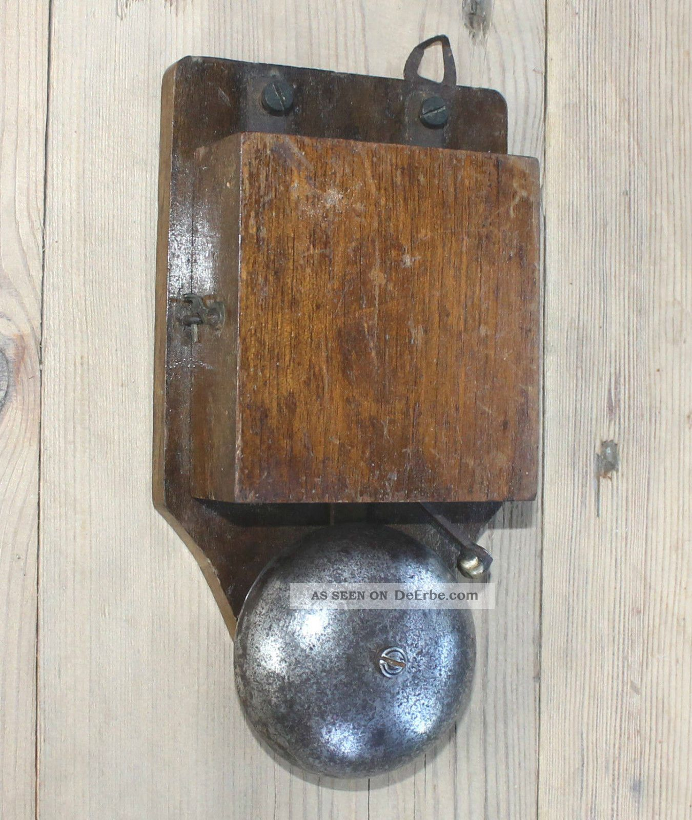 Alte Antike Türklingel Hotelklingel Glocke Industriedesign Loft Vintage Retro Nostalgie- & Neuware Bild