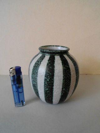Ruscha Keramik Vase Mod.  Nr.  832/2 Dekor Zebra Germany Pottery 1955,  Höhe 11 Cm Bild