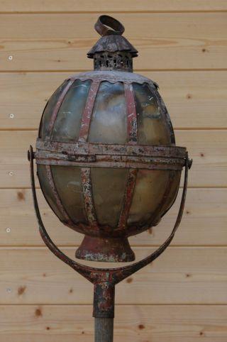 Antike Prozessionslaterne Aus Süddeutschland Prozessionslampe Lampe Prozession Bild
