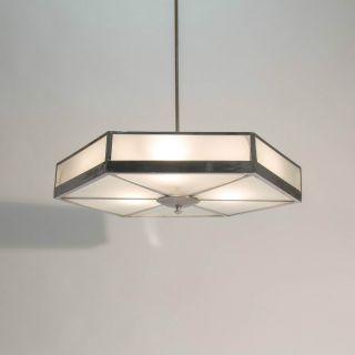Große Art Deco Bauhaus Hexagon Deckenleuchte Lampe Aus Den 30er Jahren Bild