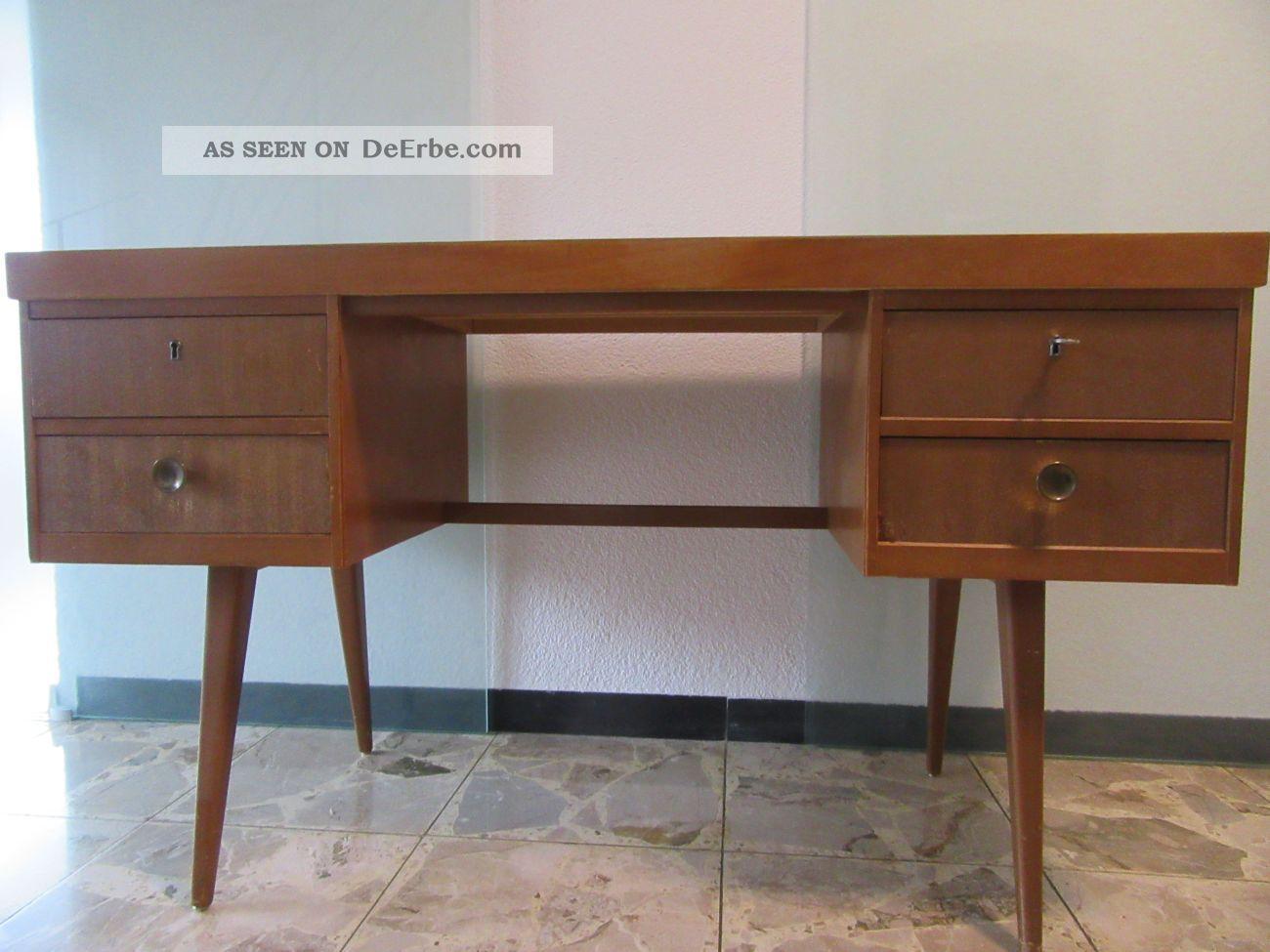 Schreibtisch 50er 60er,  Sechziger,  Mid Century,  Ekawerk,  Resopal,  Vintage 1960-1969 Bild