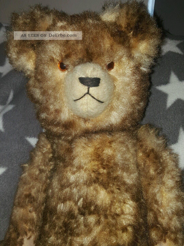 Ganz Alter Antiker Teddy Bär Rarität Liebhaber Stück Stofftiere & Teddybären Bild