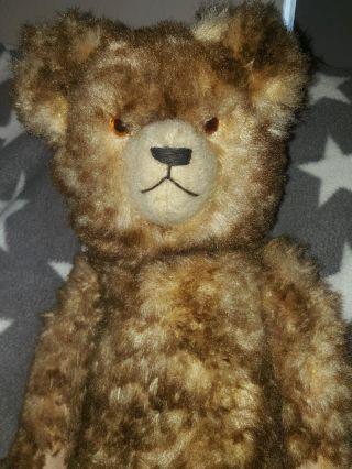 Ganz Alter Antiker Teddy Bär Rarität Liebhaber Stück Bild