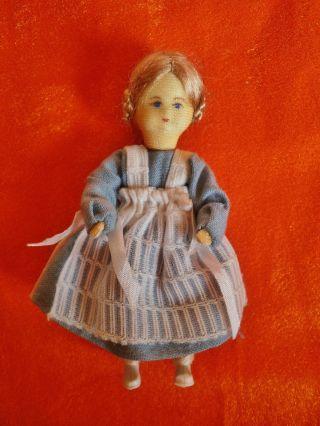 Puppenstuben - Puppenhaus - Mädchen - Klein - Erna Meyer Puppe - Bodo Hennig 1:10 Bild