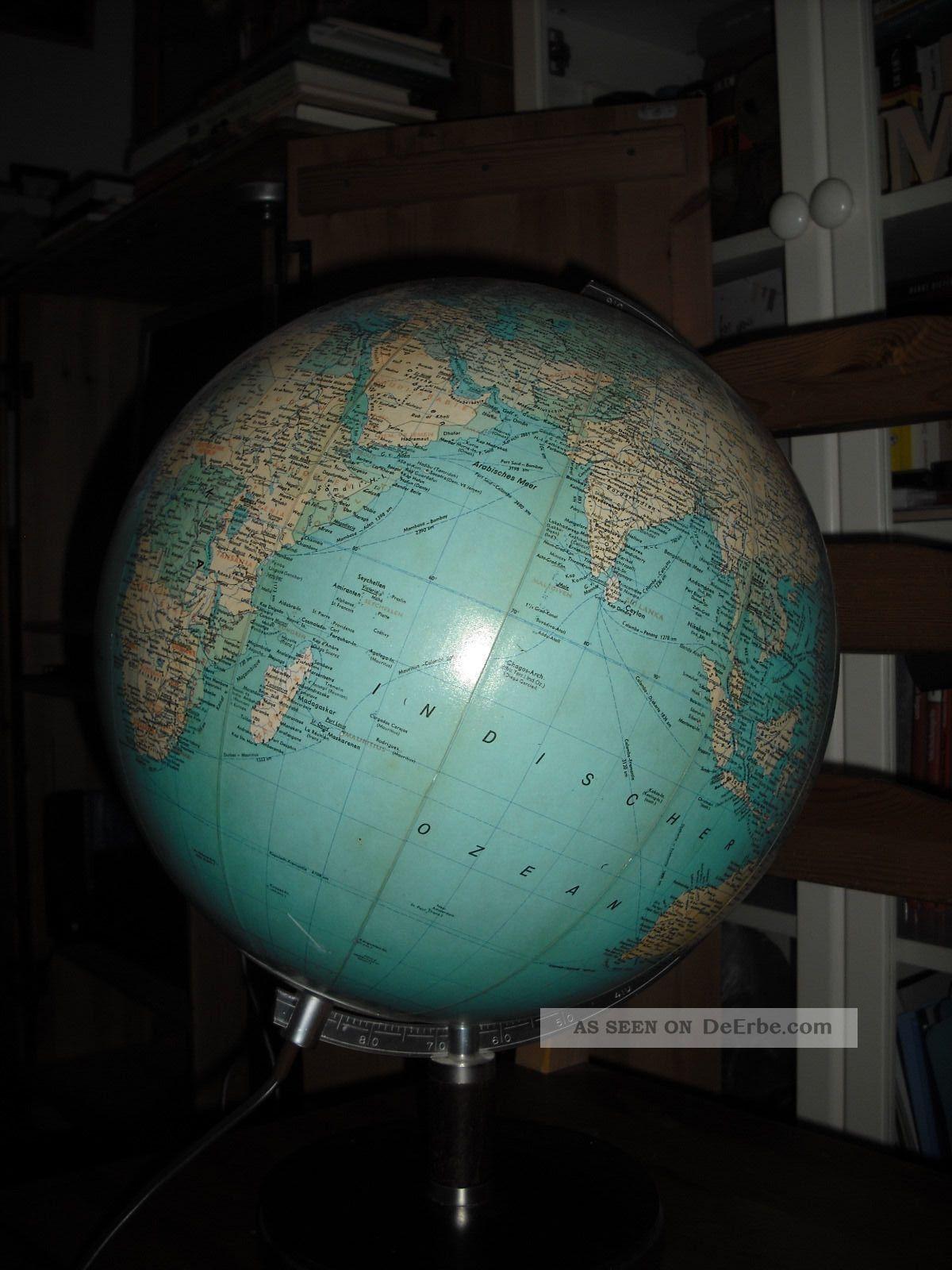 leuchtglobus globus holzfu licht lampe jro erde weltkugel. Black Bedroom Furniture Sets. Home Design Ideas