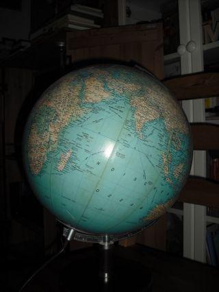 Leuchtglobus Globus Holzfuß Licht Lampe Jro Erde Weltkugel Erdglobus Bild