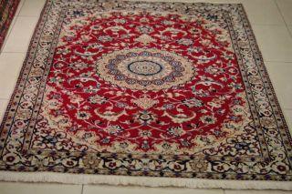 Schoner Perser Na - In Habibian Teppich 190x119 Cm Tapis,  Tappeto,  Rug,  Tapijt 01356 Bild