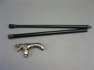 Metall Spazierstock Gehstock Drache Zerlegbar 95 Cm Geheimfach Bild