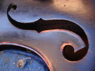 Sehr Alte 4/4 Geige