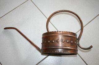 Gießkanne,  Evtl.  Kupfer,  Flach,  Oval Bild