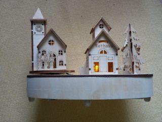 Weihnachtliche Spieluhr