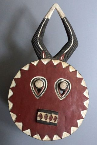 Baule Goli Maske,  ElfenbeinkÜste - Goli Baule Mask,  Ivory Coast Bild