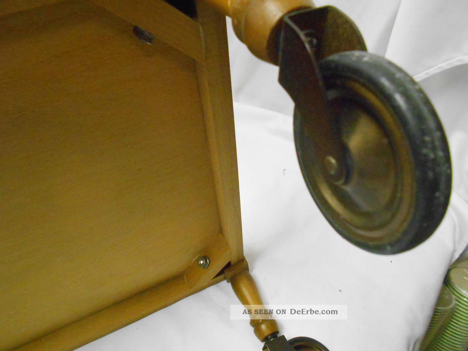 bar teewagen aus holz mit fliesen sehr sch n sku 2171. Black Bedroom Furniture Sets. Home Design Ideas