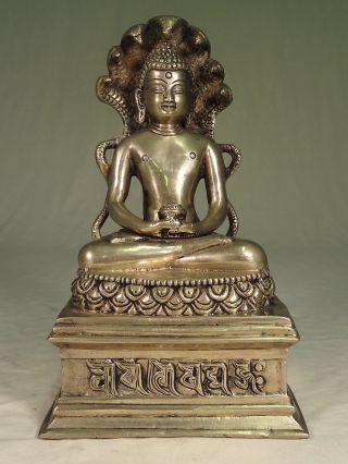 Thaibuddha - 24 Cm,  Buddha - Thailand - Messing Bild